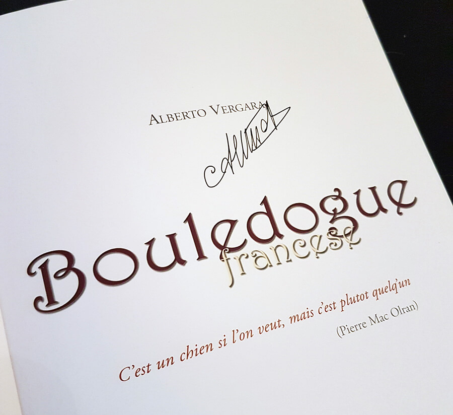 Copia autografata dall'autore in occasione dell'Esposizione Internazionale di Padova