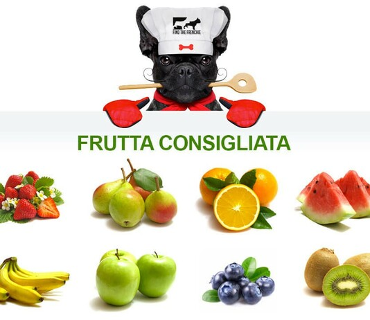 Frutta che può mangiare il vostro bouledogue francese con moderazione