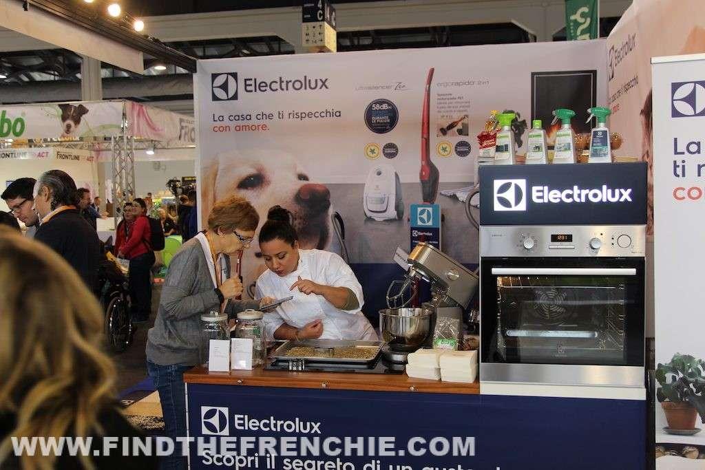 Quattro zampe in fiera Padova Electrolux Chef