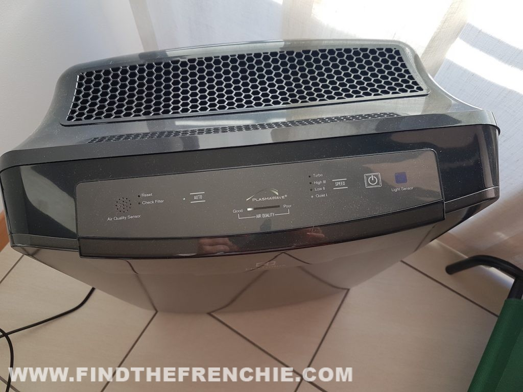 Purificatore Aria Electrolux EAP450 Oxygen Collection in funzione