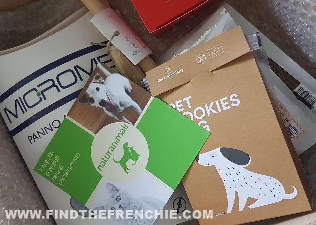Il pacco omaggio ricevuto da NaturAnimali