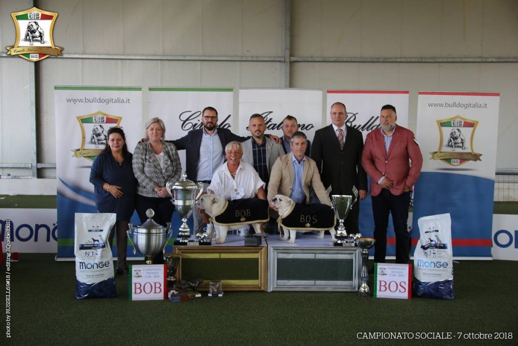 Foto di Gruppo del Campionato Sociale Bulldog 2018 - Credits Angelo Russello