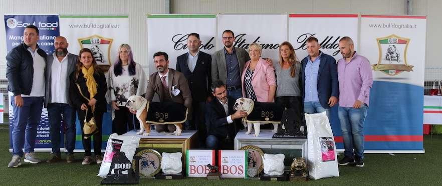 Vincitori Campionato Sociale Circolo Italiano Bulldog