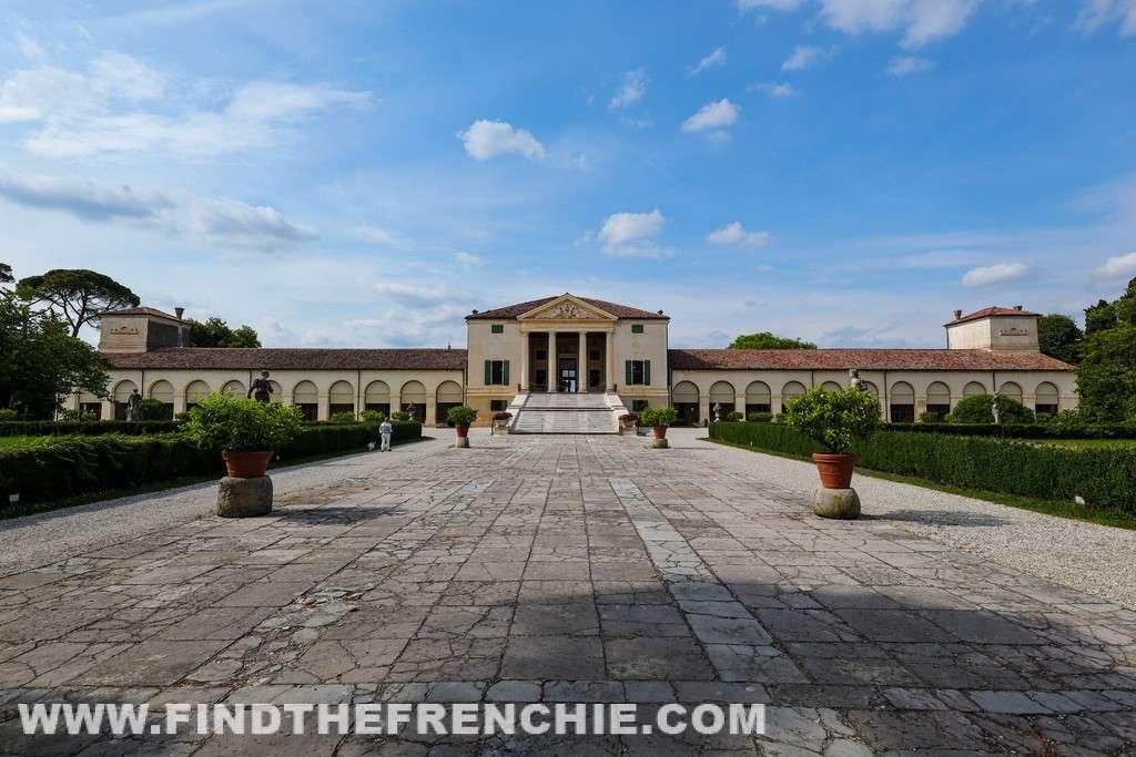 Villa Emo dell'architetto Andrea Palladio. La villa si trova Fanzolo di Vedelago, in provincia di Treviso. Villa Emo è patrimonio UNESCO