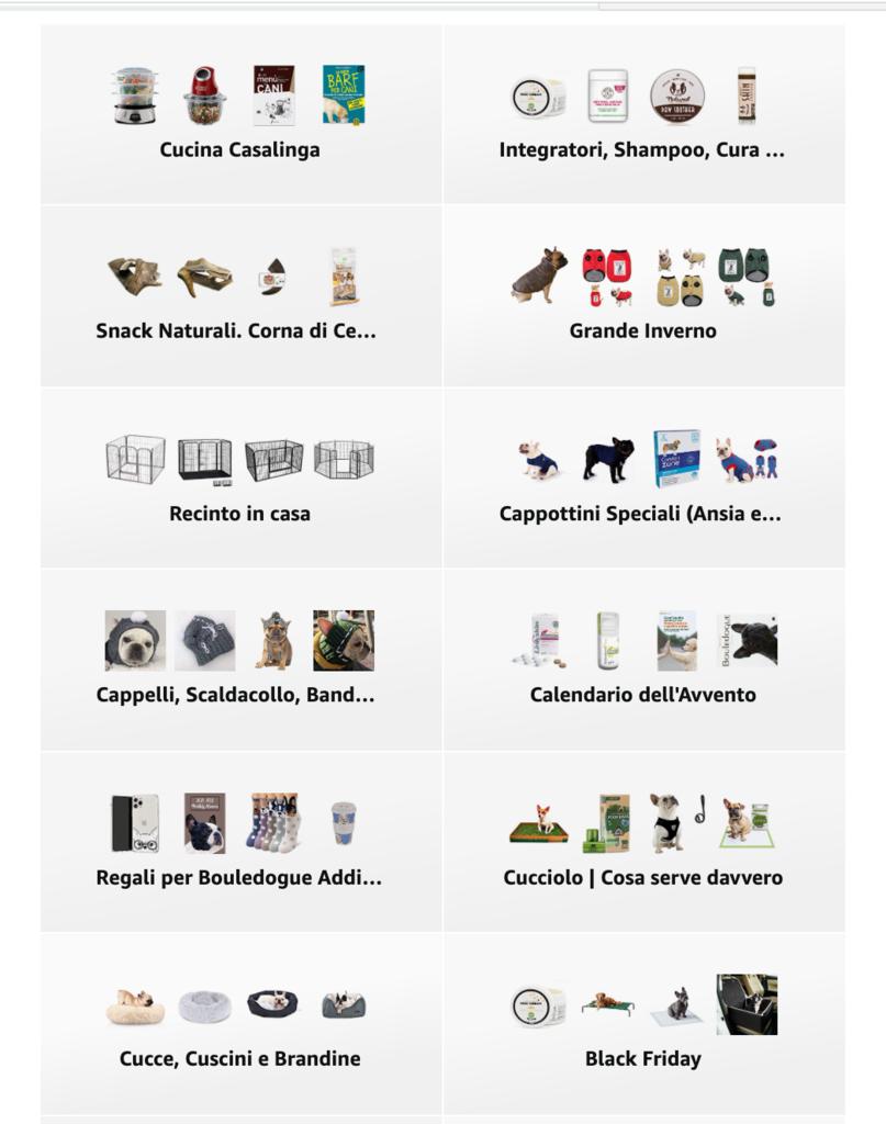 Offerte di Primavera Amazon 2021  Vetrina lista dei desideri Find the Frenchie