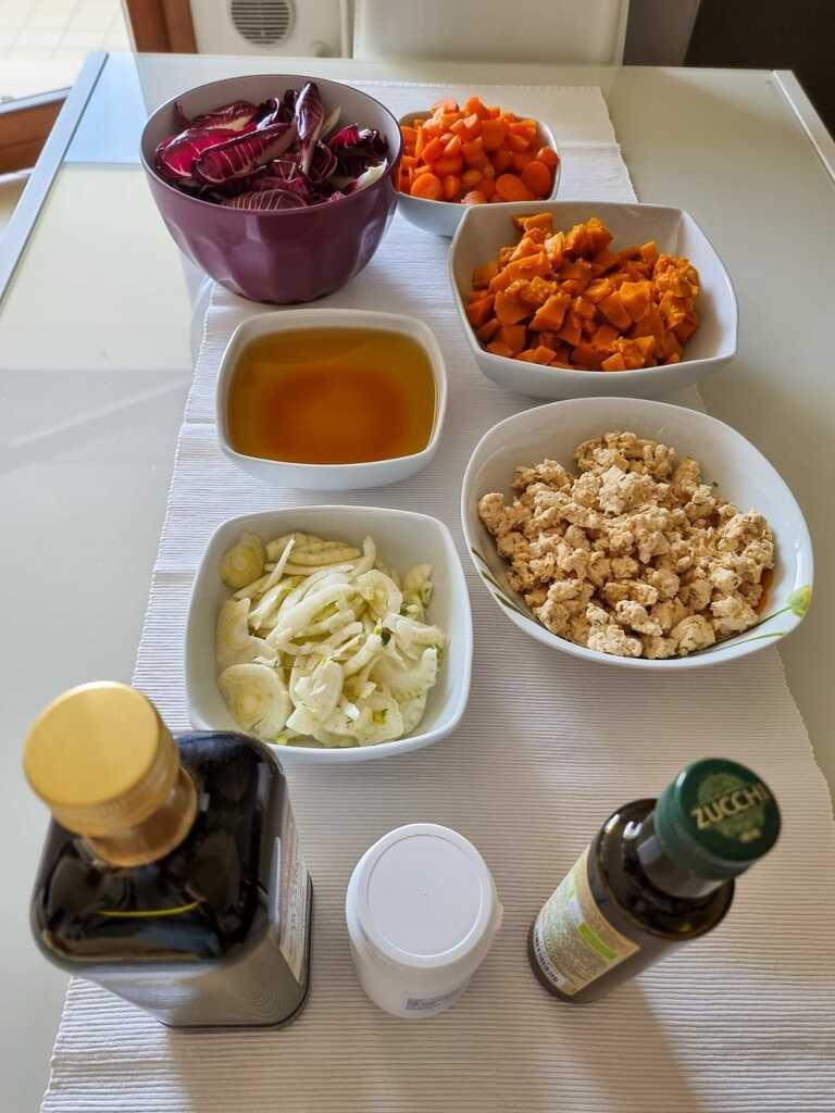 Cucina casalinga per cani. Gli ingredienti per Dante e Mia